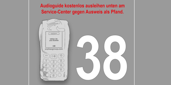 Audioguide mit Station 38